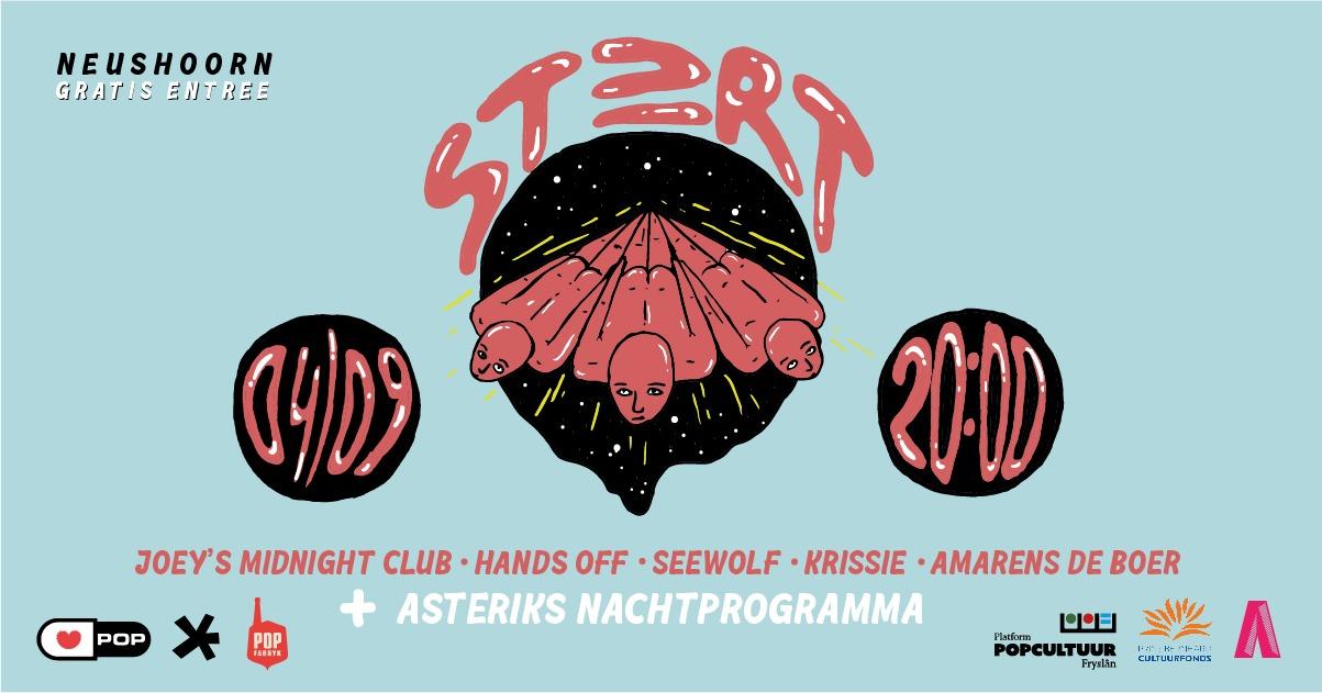 Tweede editie ST≥RT festival op zaterdag 4 september