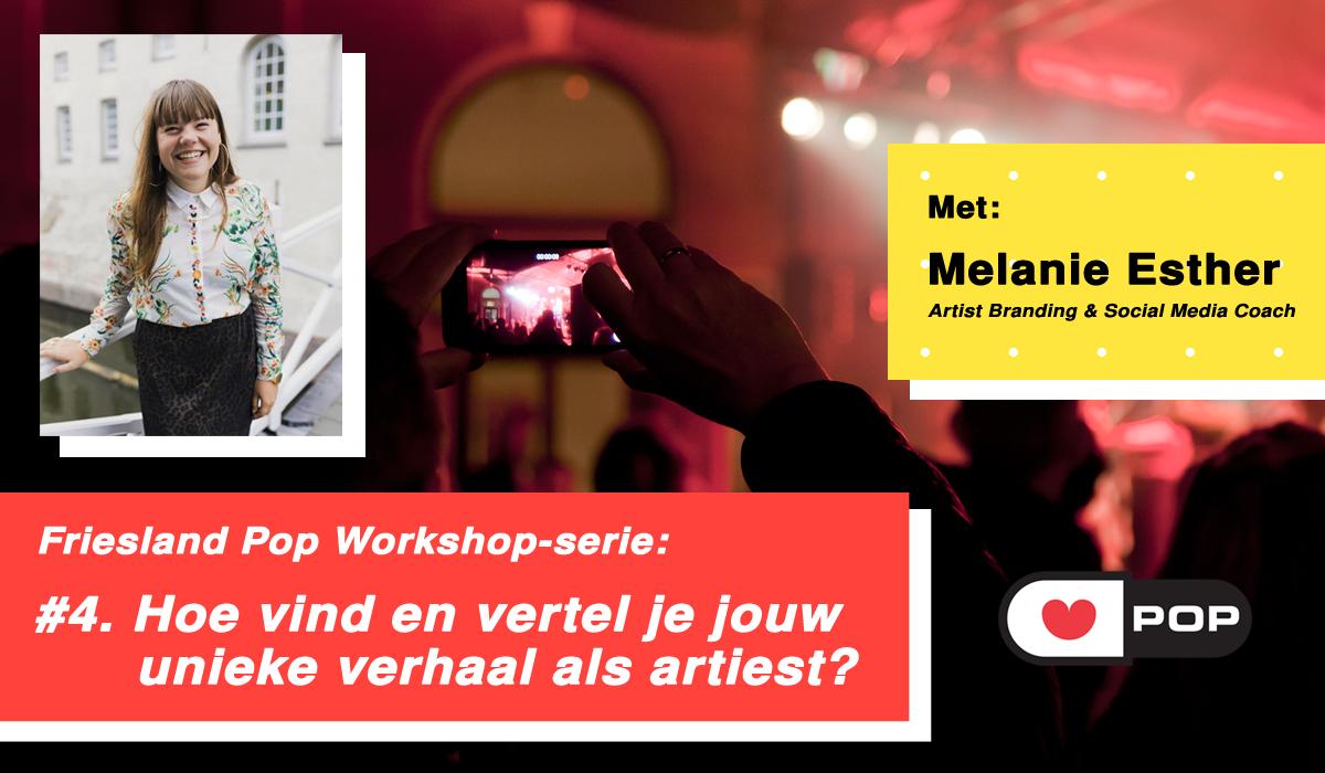 Nieuwe workshop: Artist branding & social media!
