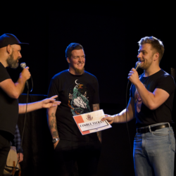 Rasentertainer Raptiel zet halve finale Kleine Prijs van Fryslân naar zijn hand